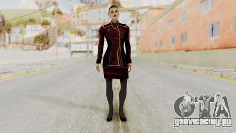 Mass Effect 3 Jack Official Skirt для GTA San Andreas второй скриншот