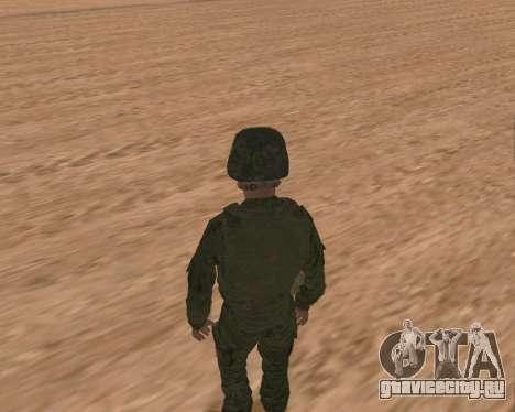 Рядовой мотострелковых войск для GTA San Andreas шестой скриншот