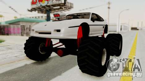Pontiac Fiero GT G97 1985 Monster Truck для GTA San Andreas
