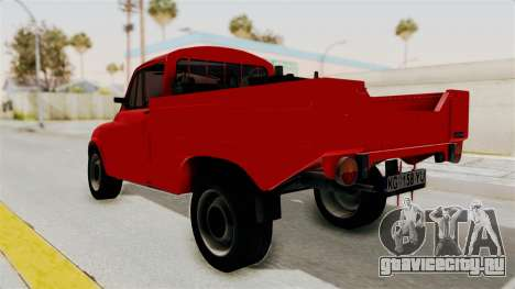 Zastava 850 Pickup для GTA San Andreas вид слева