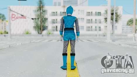 Power Rangers Ninja Storm - Blue для GTA San Andreas третий скриншот