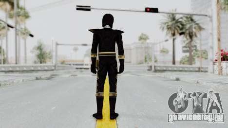 Power Rangers Dino Thunder - Black для GTA San Andreas третий скриншот