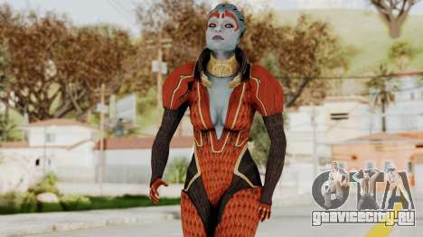 Mass Effect 2 Samara Red для GTA San Andreas