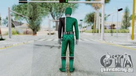 Power Rangers RPM - Green для GTA San Andreas третий скриншот