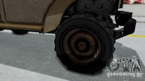 GTA 5 Bravado Duneloader Cleaner Worn для GTA San Andreas вид сзади