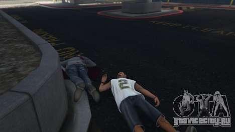 More crime mod 1.1a для GTA 5 третий скриншот