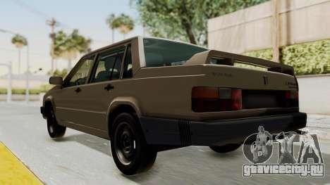 Volvo 740 для GTA San Andreas вид сзади слева