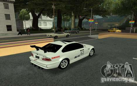BMW M3 E46 Tunable для GTA San Andreas вид изнутри