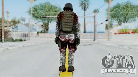 Black Mesa - Wounded HECU Marine v2 для GTA San Andreas третий скриншот
