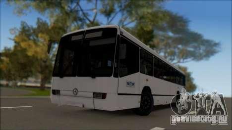 Mercedes-Benz O345 для GTA San Andreas вид слева