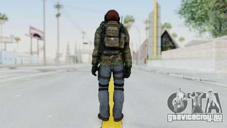 CoD AW KVA Assault для GTA San Andreas третий скриншот
