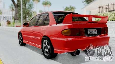 Mitsubishi Lancer Evolution III 1996 (CE9A) для GTA San Andreas вид слева