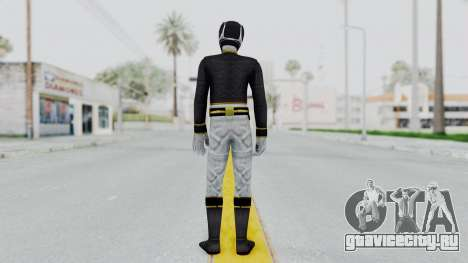 Power Rangers Megaforce - Black для GTA San Andreas третий скриншот