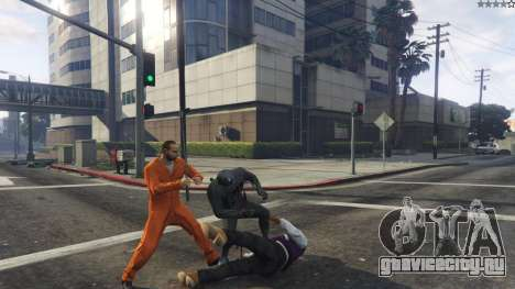 Amazing Spiderman - black suit для GTA 5 третий скриншот
