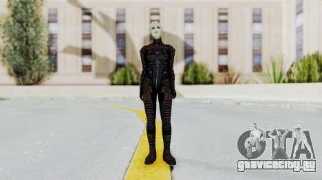 Mass Effect 1 Asari Clone Commando для GTA San Andreas второй скриншот