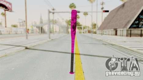 Nail Baseball Bat v4 для GTA San Andreas
