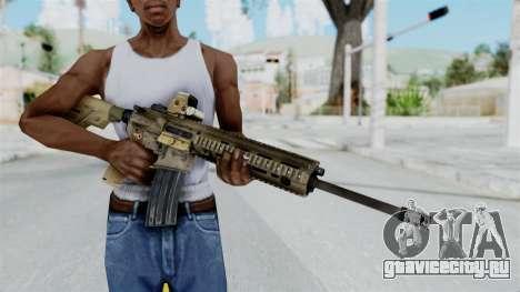 HK416A5 Assault Rifle для GTA San Andreas третий скриншот