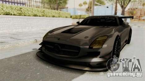 Mercedes-Benz SLS AMG GT3 PJ4 для GTA San Andreas
