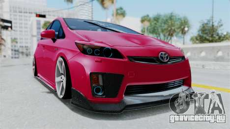 Toyota Prius 2011 Elegant Modification для GTA San Andreas
