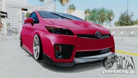 Toyota Prius 2011 Elegant Modification для GTA San Andreas
