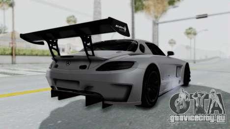 Mercedes-Benz SLS AMG GT3 PJ7 для GTA San Andreas вид справа