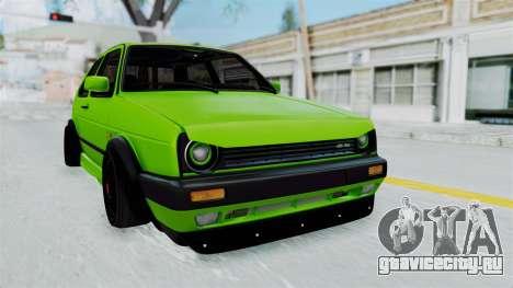 Volkswagen Golf Mk2 R36 для GTA San Andreas