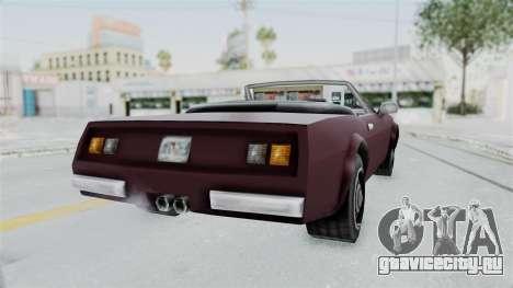 GTA VC Stinger для GTA San Andreas вид сзади слева