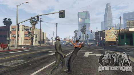 Amazing Spiderman - black suit для GTA 5 пятый скриншот