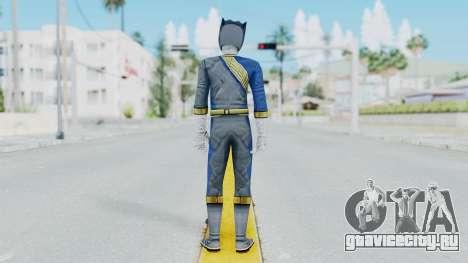 Power Rangers Wild Force - Wolf для GTA San Andreas третий скриншот