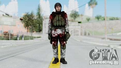 Black Mesa - Wounded HECU Marine v3 для GTA San Andreas второй скриншот