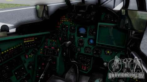 Mi-24V GDR Air Force 45 для GTA San Andreas вид изнутри