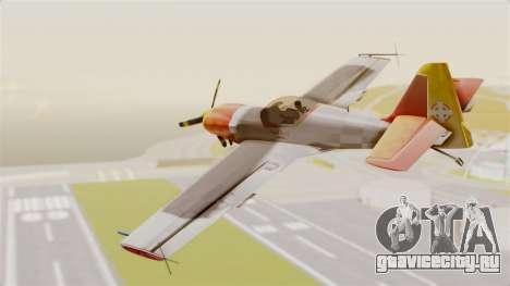 Zlin Z-50 LS v5 для GTA San Andreas вид слева