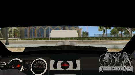 Ford Mustang для GTA San Andreas вид изнутри