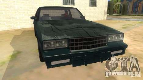 Chevrolet Monte Carlo 81 для GTA San Andreas вид сзади