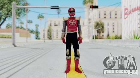 Power Rangers Ninja Storm - Crimson для GTA San Andreas второй скриншот