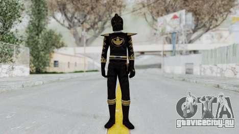 Power Rangers Dino Thunder - Black для GTA San Andreas второй скриншот
