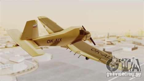 Z-37 Cmelak для GTA San Andreas вид справа