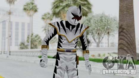 Power Rangers Dino Thunder - White для GTA San Andreas