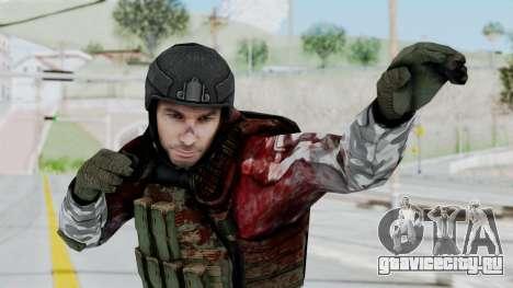 Black Mesa - Wounded HECU Marine v3 для GTA San Andreas