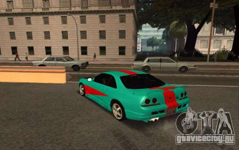 Nissan Skyline R33 Tunable для GTA San Andreas вид справа