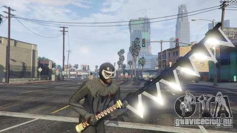 Amazing Spiderman - black suit для GTA 5 восьмой скриншот