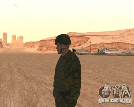 Рядовой мотострелковых войск для GTA San Andreas пятый скриншот