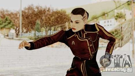 Mass Effect 3 Jack Official Skirt для GTA San Andreas