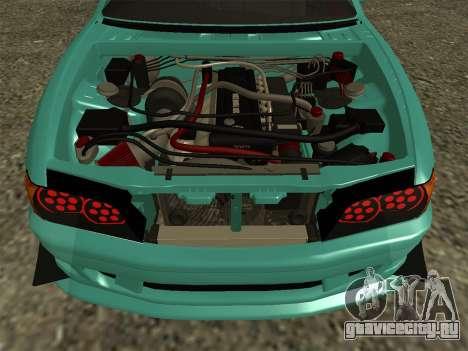 Toyota Chaser JZX100 для GTA San Andreas вид справа