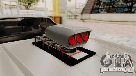 Ford Mustang 1971 Monster Truck для GTA San Andreas вид сзади