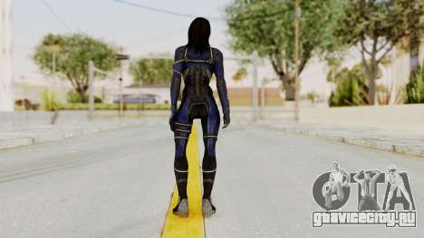 Mass Effect 3 Ashley Williams Ashes DLC Armor для GTA San Andreas третий скриншот