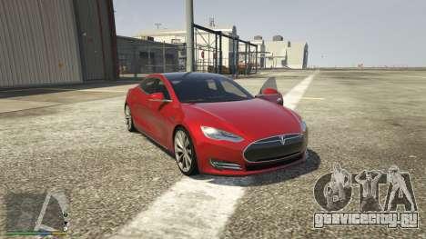 Tesla Model S для GTA 5