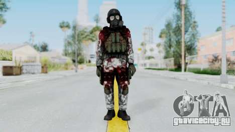Black Mesa - Wounded HECU Marine v2 для GTA San Andreas второй скриншот