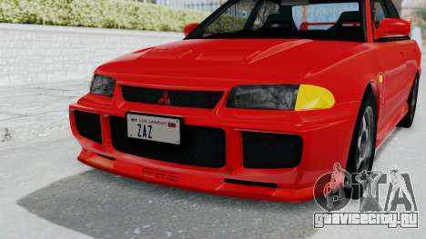 Mitsubishi Lancer Evolution III 1996 (CE9A) для GTA San Andreas вид сверху