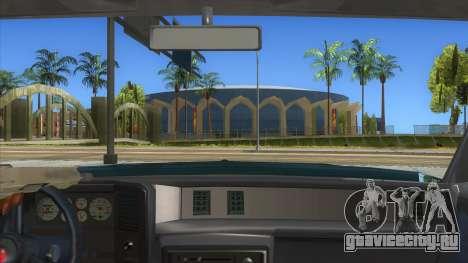 Chevrolet Monte Carlo 81 для GTA San Andreas вид изнутри